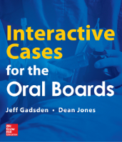 Cover image: Interactive Cases for the Oral Boards