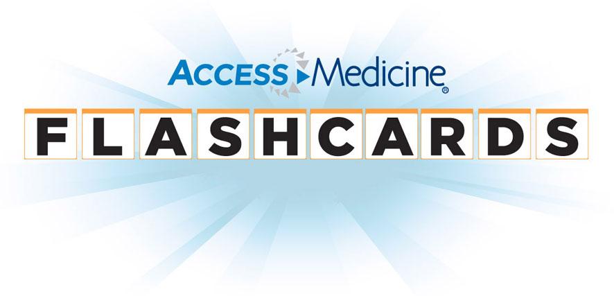 AccessMedicine Flashcards标志