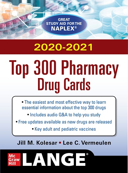 Top 300 Pharmacy Drug Cards cover image
