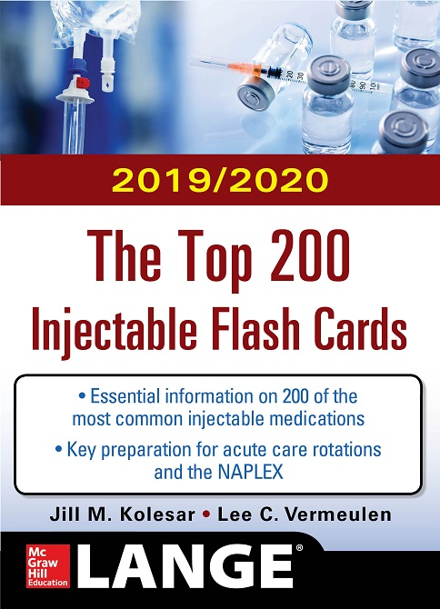 Top 200 Injectable Flashcards cover image
