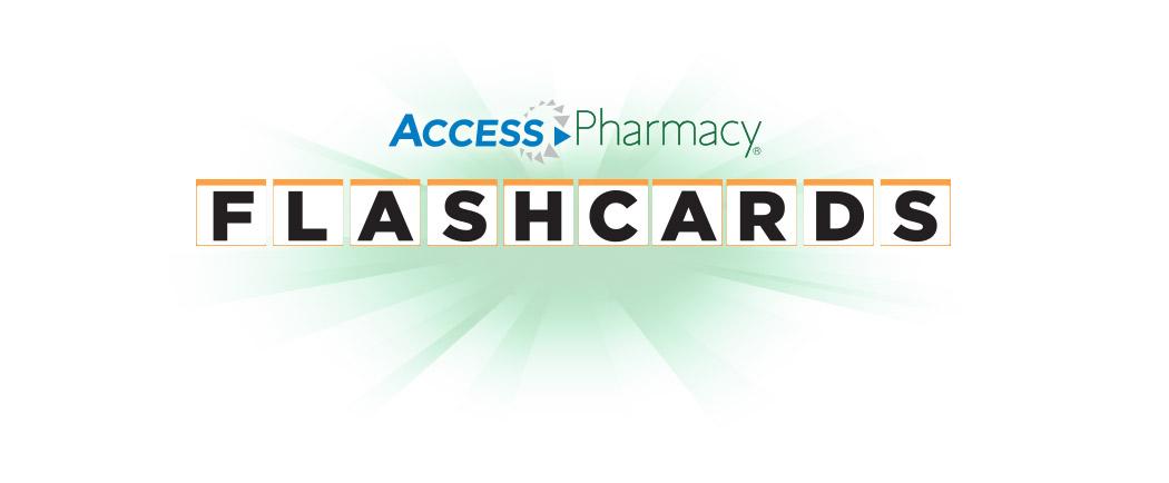 AccessPharmacy Flashcard logo