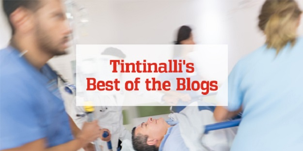 Promo for Best of the Blogs, curated by the Tintinalli editorial team