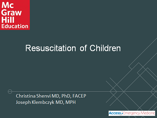 Resuscitation of Children thumbnail of title card