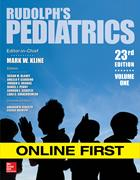 Cover for Rudolph's Pediatrics 23rd Edition