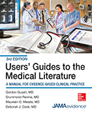 Users' Guides to the Medical Literature Cover